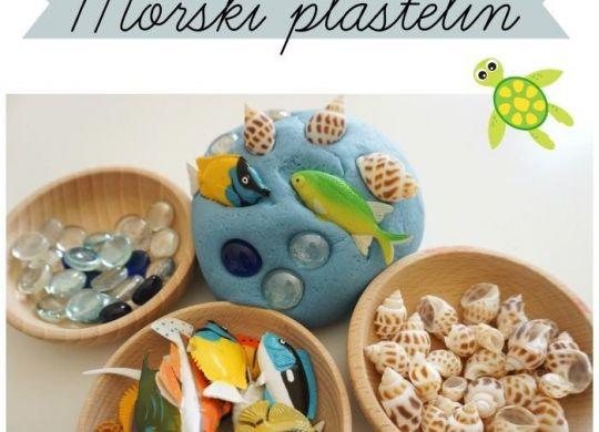 Morski plastelin - poletne aktivnosti za otroke