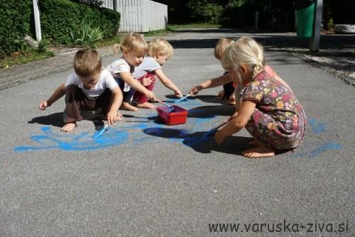 Ustvarjanje s tekočimi kredami
