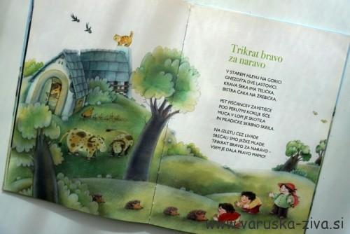 Knjiga tedna: Trikrat bravo za naravo, Zvezdana Majhen