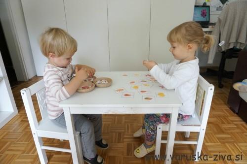 Jesenska matematika za malčke