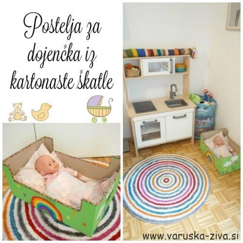 postelja-za-dojencka-iz-kartonaste-skatle