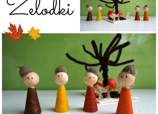 Želodki - doma narejene igrače