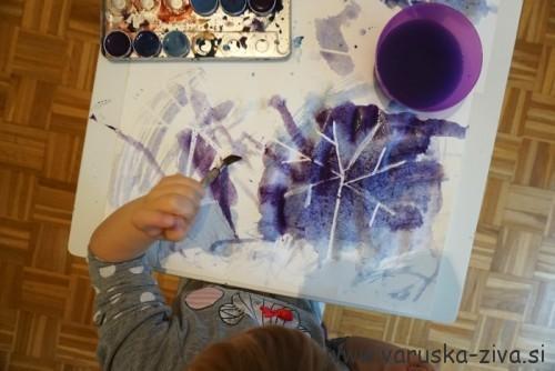 Slikanje z vodenkami