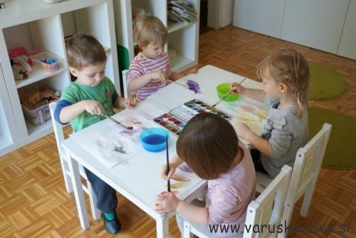 Enostavne pustne maske - pustne aktivnosti za otroke