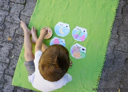 Poletno učenje geometrijskih likov