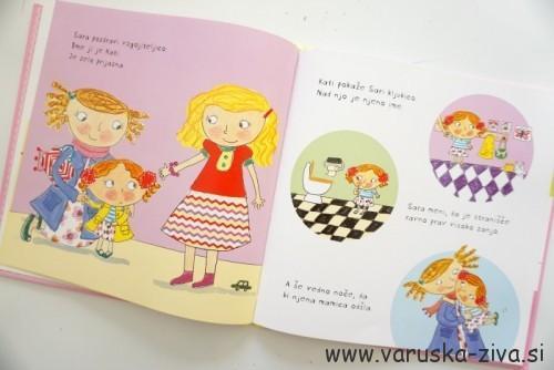 Knjiga tedna: Sara gre rada v vrtec
