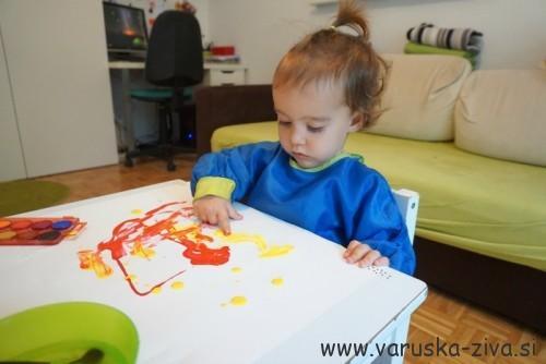 Prvo slikanje s temperami