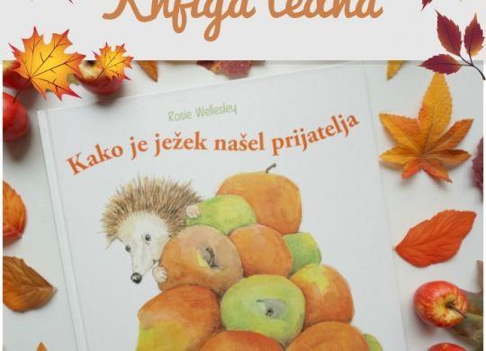 Knjiga tedna: Kako je ježek našel prijatelja