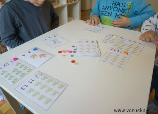 Štetje dinozavrov - matematika za malčke