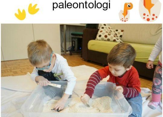 Mali paleontologi - izkopavanje dinozavrov
