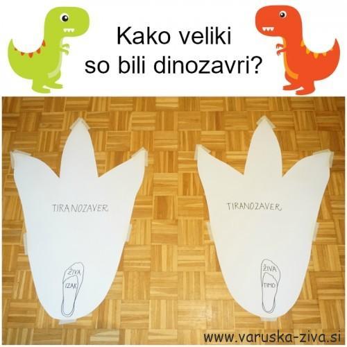 Kako veliki so bili dinozavri - Velikost Tiranozavrove noge