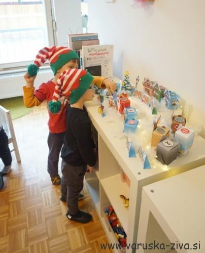 Koledar prazničnih aktivnosti - otroški adventni koledar