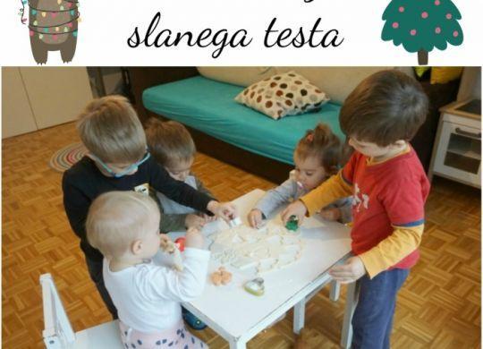 Koledar prazničnih aktivnosti - otroški adventni koledar - slano testo