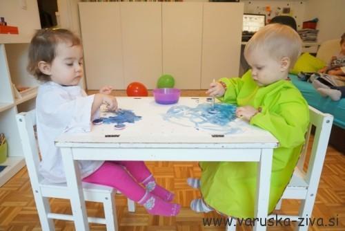 Zimske slike - zimske aktivnosti za otroke