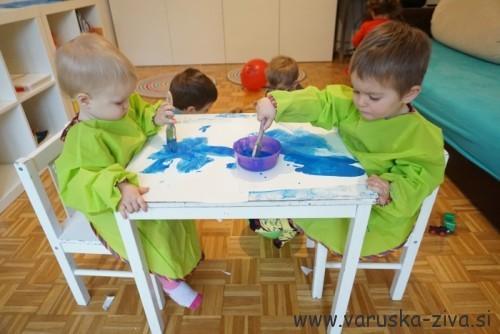 Barvanje papirja