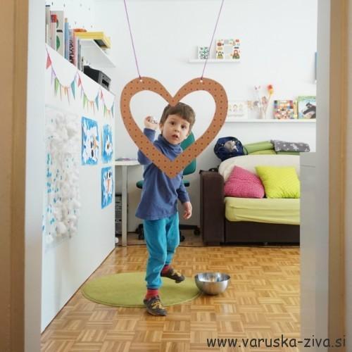 Valentinova gibalna aktivnost - Zadeni srce