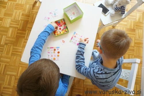 Velikonočni Bingo - velikonočne aktivnosti za otroke