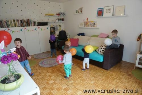 Zabava z baloni