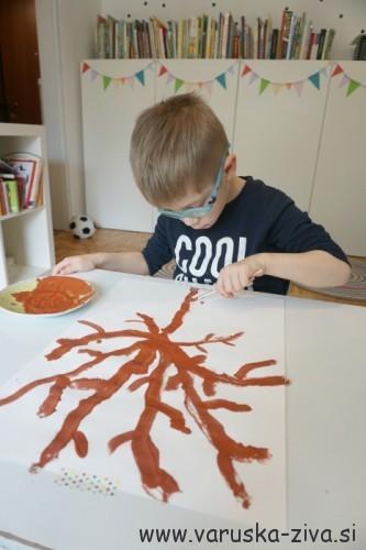 Slikanje z otroki