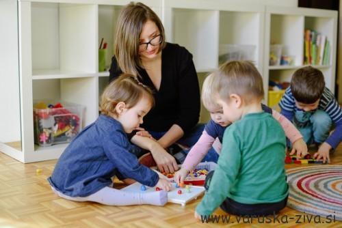 Otroška radovednost in ustvarjalnost in kako jo vzpodbujati - igra otrok