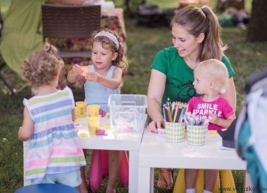 Festival Dojiva se - Otroški kotiček in poslikava obraza za podjetja