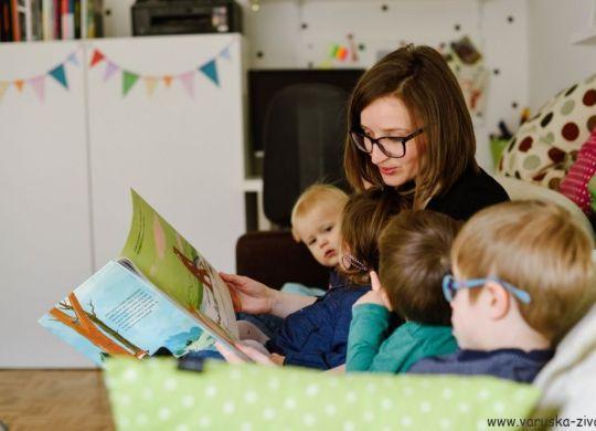 Razvoj pismenosti pri otrocih - branje
