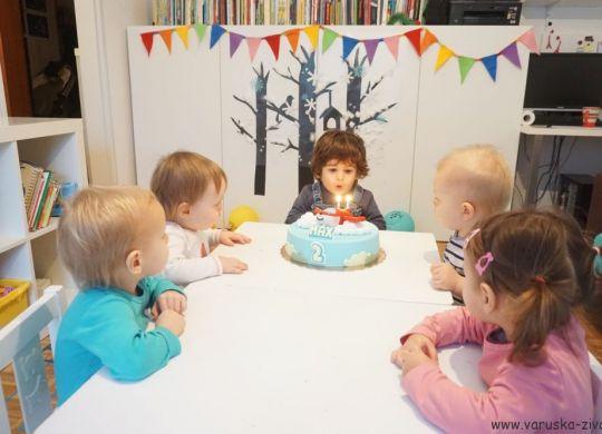 Praznovanje 2. rojstnega dne