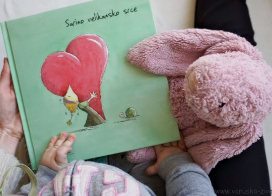 Knjiga tedna: Sarino velikansko srce