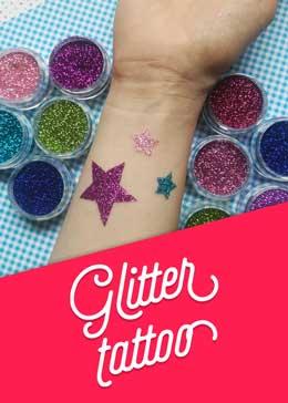 Ponudba - glitter tattoo-ji