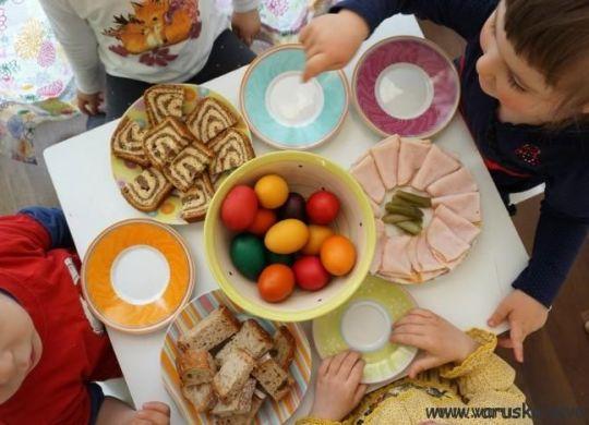 Tedenski jedilnik - velikonočni zajtrk
