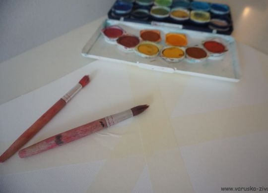 Slikanje jesenske slike