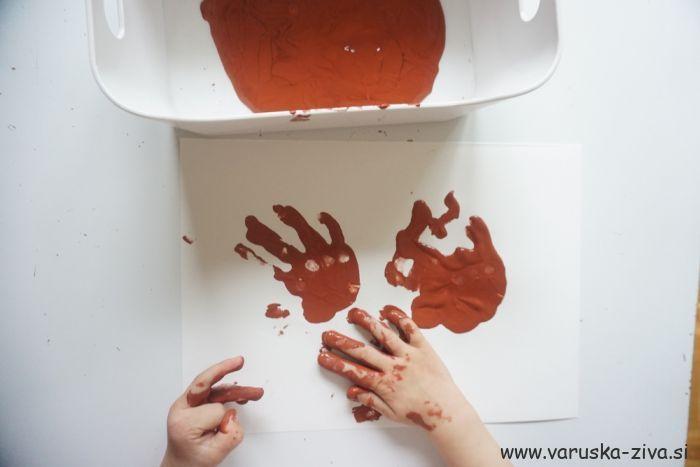 Želod iz odtisov dlani