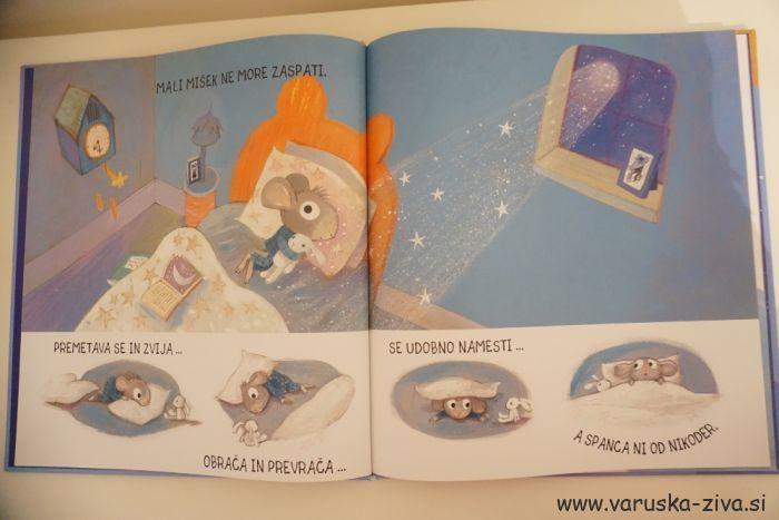 Knjiga tedna: Uspavanka za malega miška