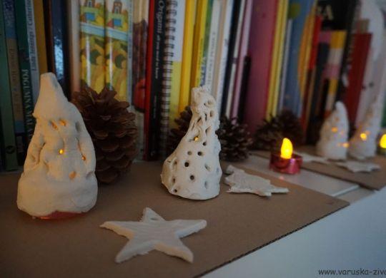Svečniki in okraski za smrekico