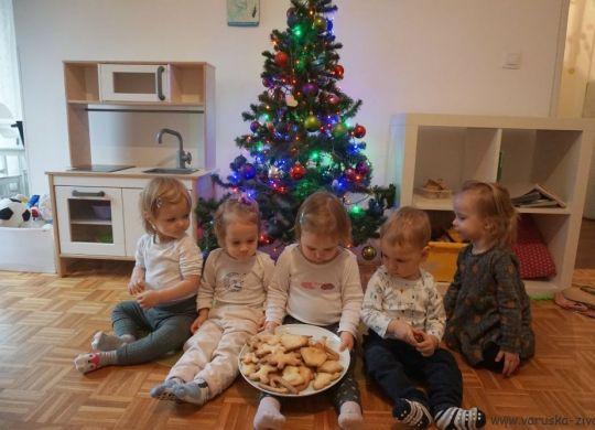 Peka božičnih piškotov