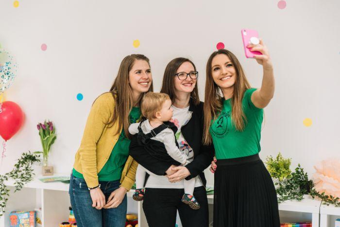 Otvoritev naše nove igralnice za praznovanje rojstnih dni v Ljubljani