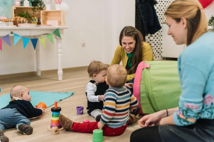 Otvoritev naše nove igralnice - kotiček za dojenčke