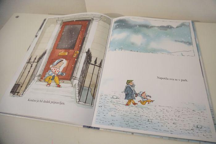 Knjiga tedna: Sneg