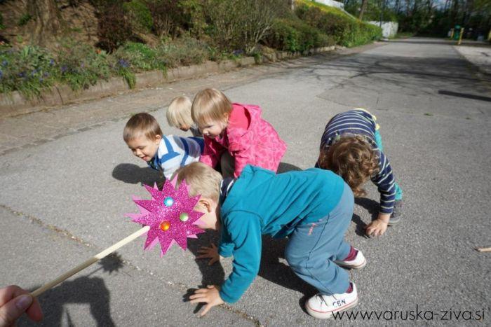 Čarobna palčka - gibalna aktivnost za otroke