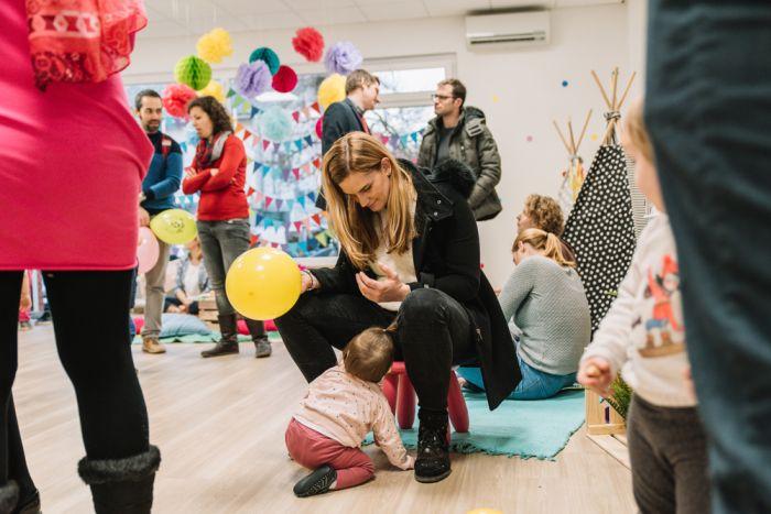 Otvoritev igralnice za praznovanje rojstnih dni
