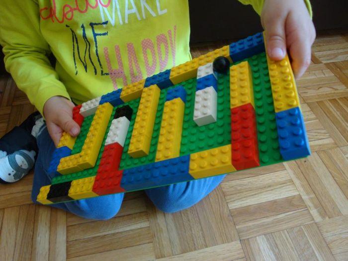 Labirint iz Lego kock