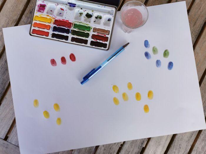 Ustvarjamo s prstki - Velikonočne aktivnosti za otroke