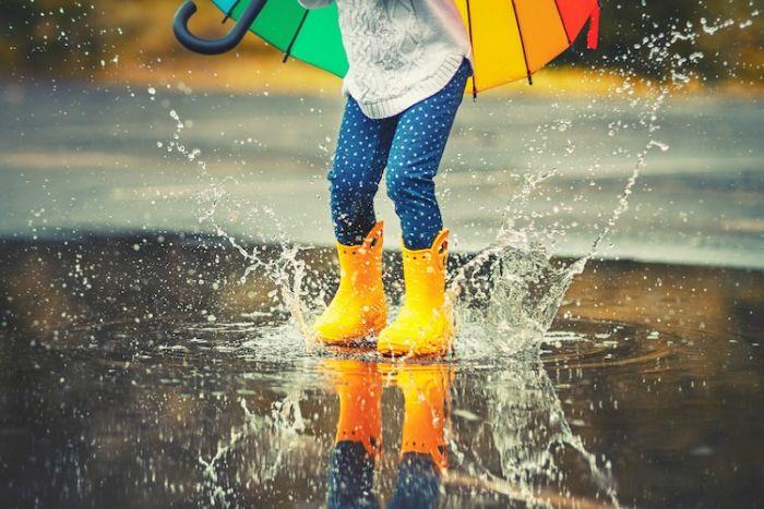 Bibarija - drobne kapljice dežja