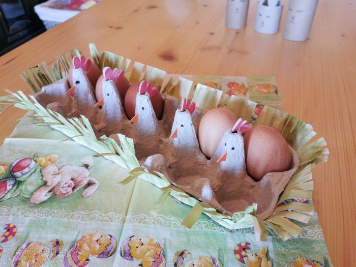 Velikonočna košarica za jajčka