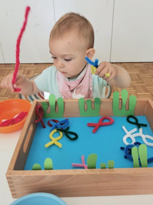 Lovljenje ribic - poletne aktivnosti za otroke