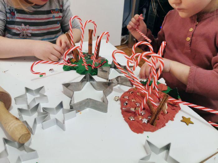 Božični plastelin