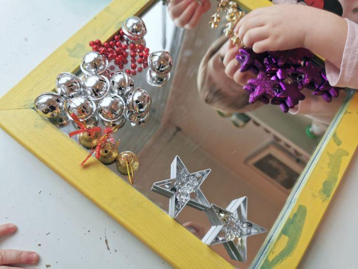 Ogledalo in drobni delci