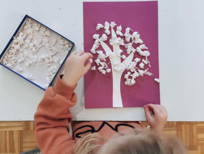 Zimsko drevo - lepljenka