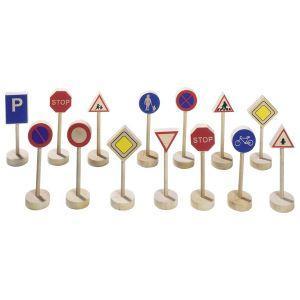 Goki - Leseni prometni znaki