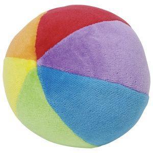 Goki - Mavrična mehka žoga s kraguljčkom